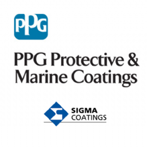PPG Sigma SigmaCover 456HS 2K High Solids Polyamide Cured Recoatable Epoxy Coating Various Colours 20lt